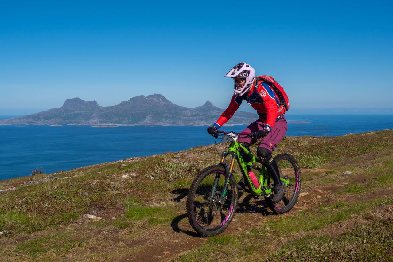 Søndagens fem etapper var en fryd, selv om de også var et slit, sier Anette Røssum Bastnes. Foto: Frode Koppang