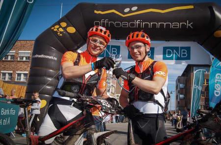 Full Rulle med Daniel Leirbakken og Daniel Strand var forhåndsfavoritter i OF300 og innfridde forventningene. De vant med en halvtimes margin. Foto: Offroad Finnmark/Nils Westphal