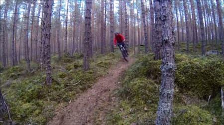 Utenom det vanlige: I den sagnomsuste skibygda Sogndal er kanskje ikke dette helt innafor normalen.