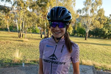 Holly Harris er med på Team Merida GunnRita for sesongen 2018. Foto: Merida GunnRita