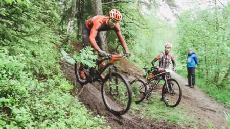 KJØR: Ola Kjøren holdt rubbel og bit bak seg gjennom to heftige runder i Østmarka.