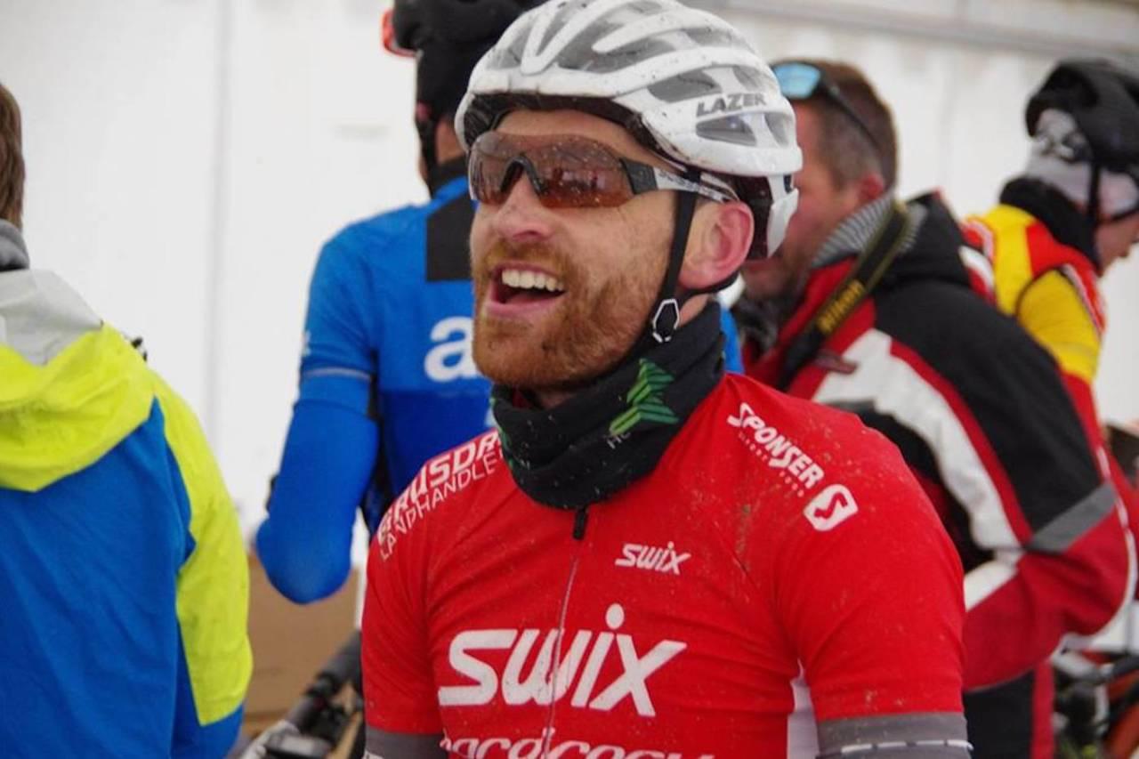 Vidar Mehl tok spurten på første etappe av Trans-Østerdalen. Foto: Arrangøren