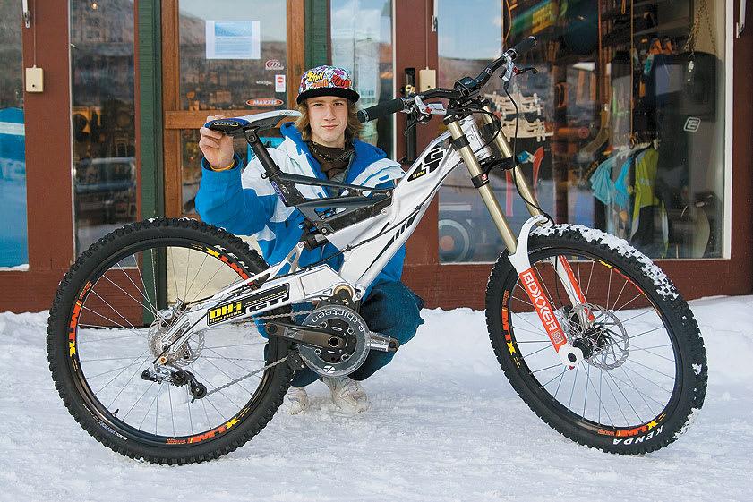 9b6243afa0b VENTER PÅ VÅREN: Snorre Setrom er stolt eier av landets eneste 2008 GT DHI  Team