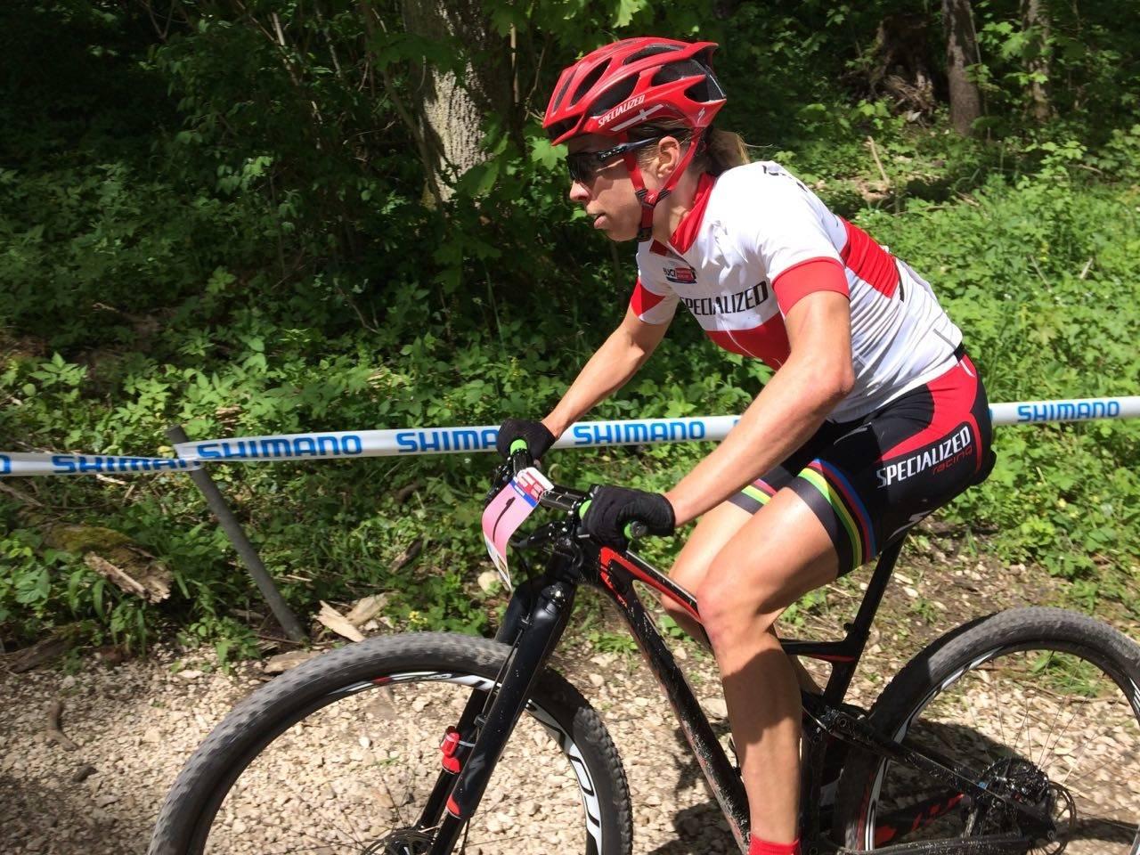 DANSK STJERNE: Annika Langvad er verdens beste rundbanesyklist for tiden. Foto: Øyvind Aas
