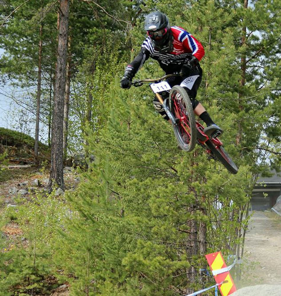 STJERNE: Isak Leivsson tok seieren i Nesbyen med rå kjøring. Alle foto: Kristina Tovsrud Brenno