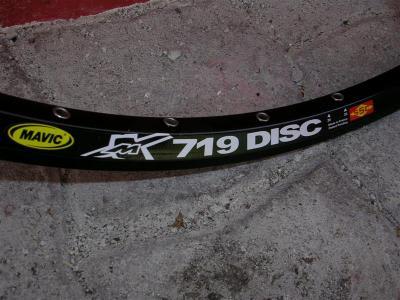 XM 719 Disc: Ny felgring som ser ut til å passe mange stisyklisters bruksområder.