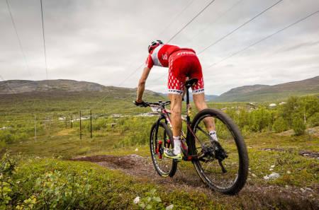 Søren Nissen vant Skaidi Extreme. Foto: Skaidi Xtreme & Ziggi/Reklamehuset Nord