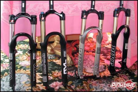 Velvel: Pene er de ikke, men Rock Shoxs 2006-gafler får sannsynligvis jobben gjort. Foto: pinkbike.com
