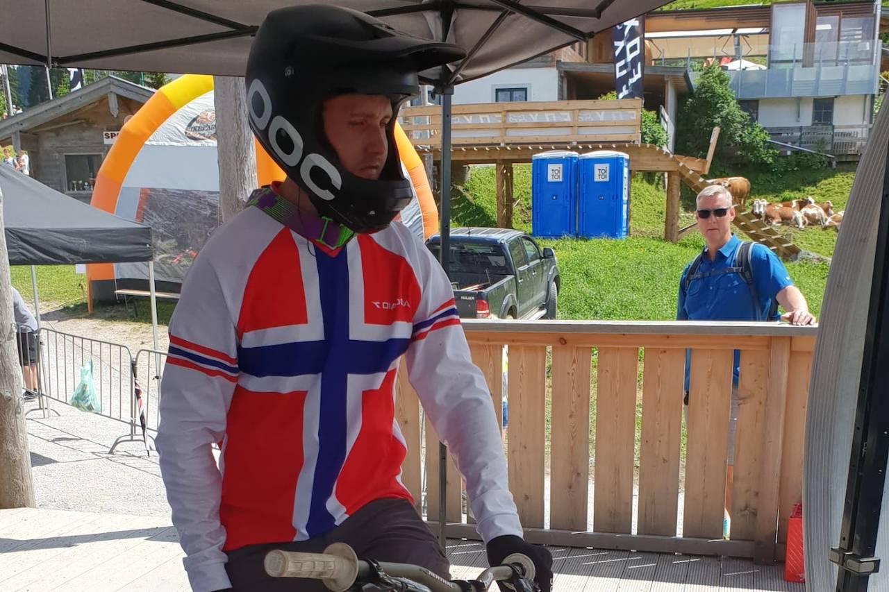 Isak Leivsson leverte like bra på dagens verdenscupritt i Andorra som på sesongbeste i Leogang i juni. Foto: Niclas Stensrud Andersen