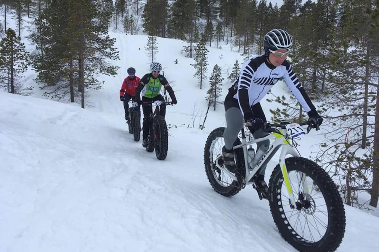 Daniel Boberg Leirbakken tok seieren i Skogen Farbike for andre år på rad. Foto: Nerskogen IL