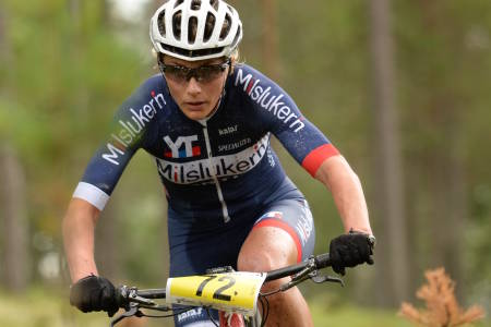 Jeanette Persson vant dameklassen i Helterittet med nesten tre og et halvt minutts margin, men forteller om tøffe forhold i løypa. Foto: Kent Murdoch