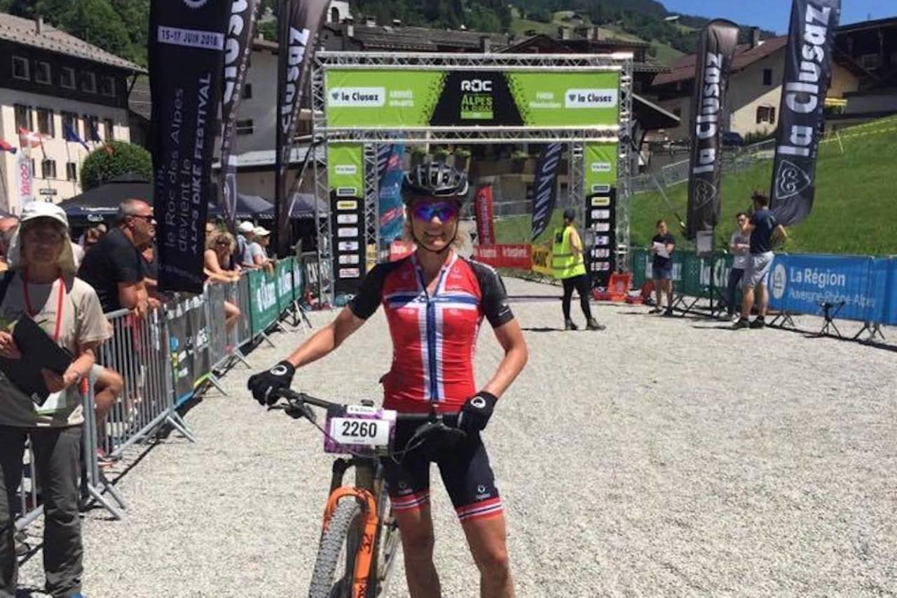 Jeanette Persson vant UCI World Series rittet Roc Des Alpes i La Cluzas med god margin. Foto: Tommy Sande
