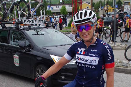 Kristin Aamodt vant dameklassen med solid margin og har skaffet seg et godt forsprang i det tre dager lange etapperittet. Foto: Arrangøren