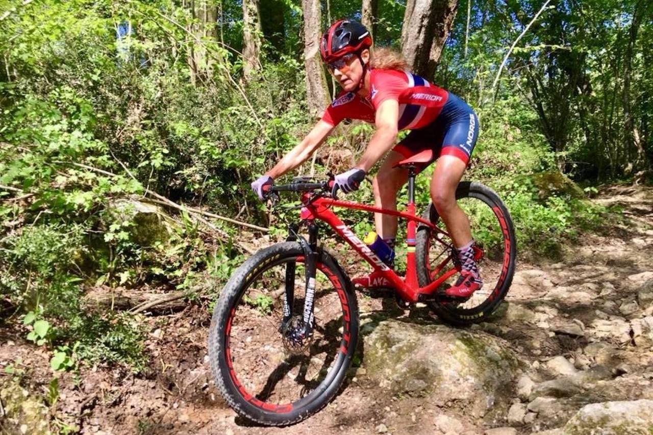 Gunn-Rita Dahle Flesjå vant dagens verdenscupritt i Andorra. Foto: Team Merida Gunn-Rita
