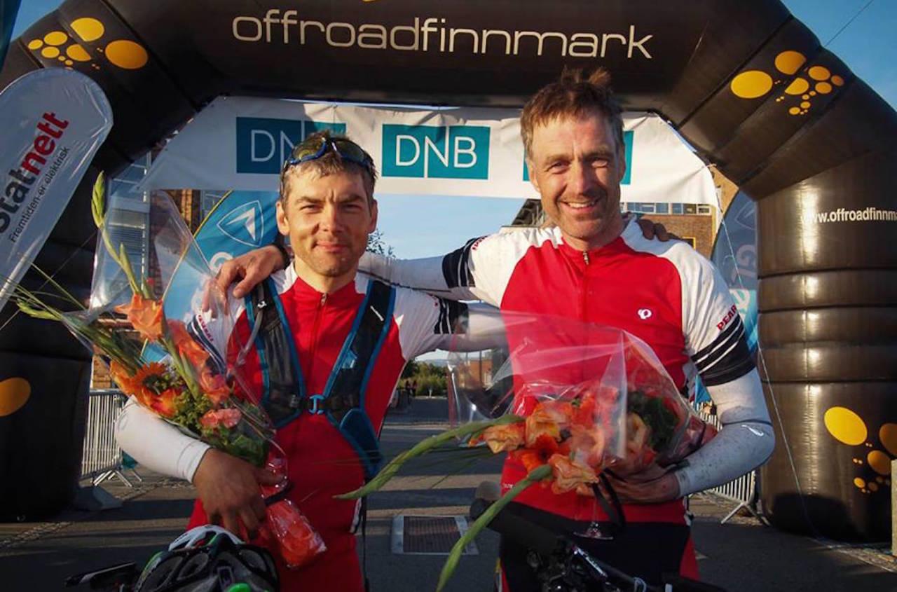 Sten-Are Harjo og Geir Lien i Team Diesel var overlegent best i OF700. Foto: Offroad Finnmark/Niels Westphal