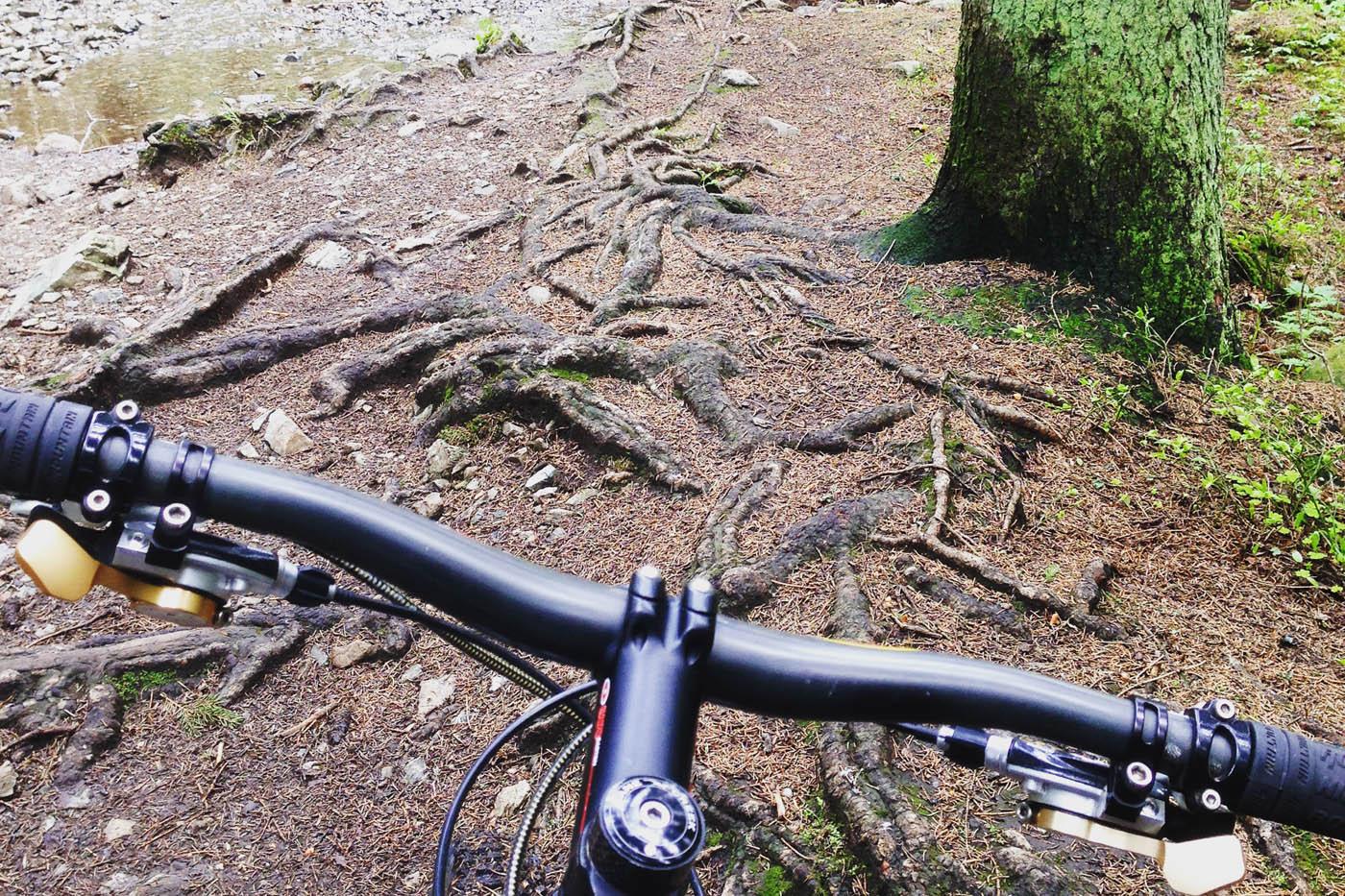–Har aldri syklet så mange mil sammenhengende på sti før