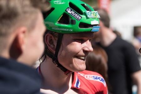 Petter Fagerhaug er Norgesmester 2016 i rundbane. Foto: Bengt Ove Sannes