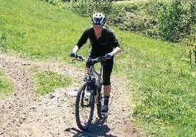 Kvinne på sykkel - javisst!
