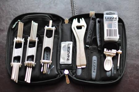 PÅ PLASS:  Alle verktøyene har sin fast plass.FOTO: Noen