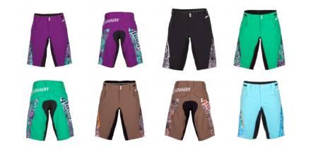 FLERE FARGER: Four mile shortsen fra Qloom finnes i flere farger, og det burde være noe for enhver.