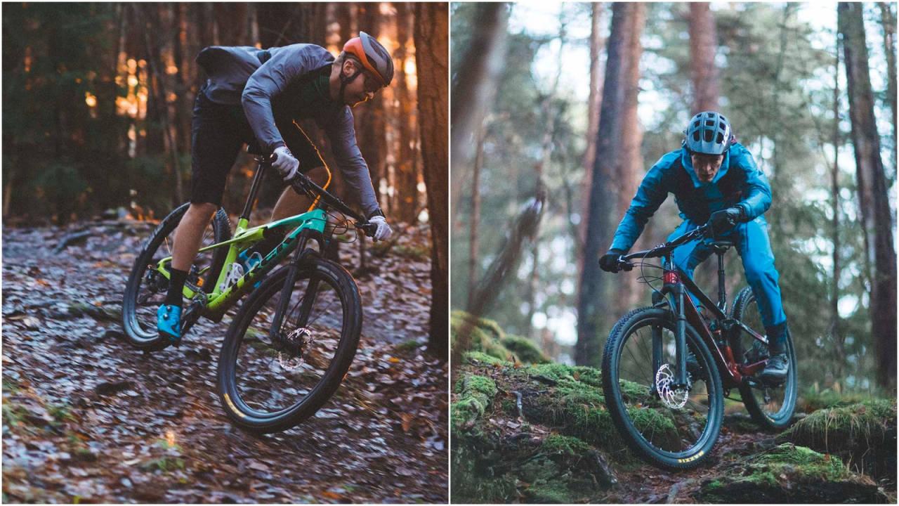 DUELL: Bør du velge sti- eller rittsykkel i tekniske stiritt?