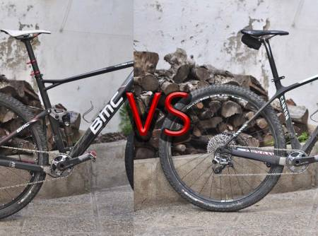 test fulldemper hardtail