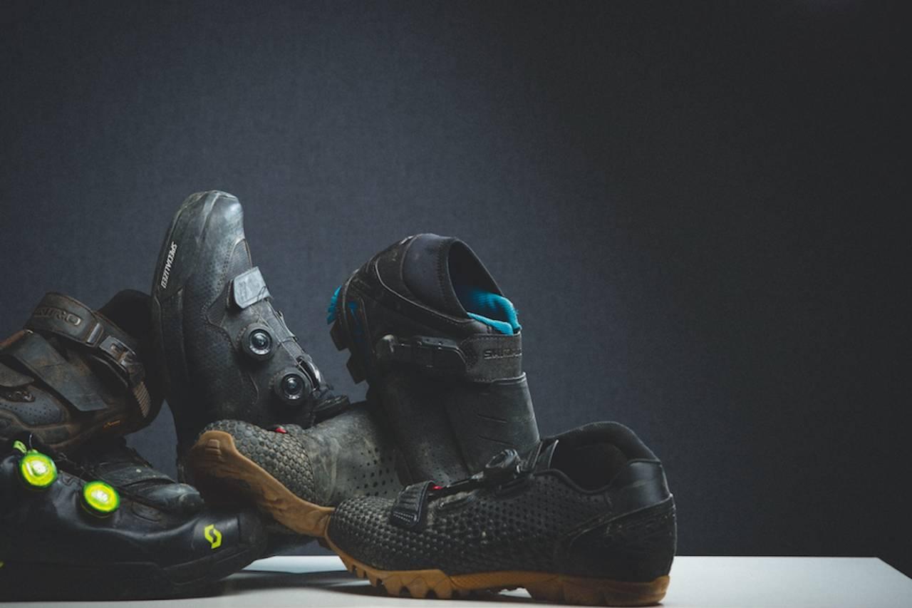 test av sko til sykling sykkelsko