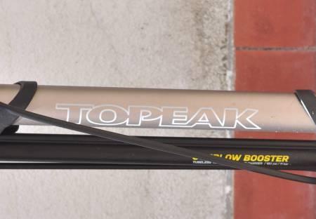 SUPERPUMPE: Topeak tar Bontragers ide med kompressor-pumpe til nye høyder.