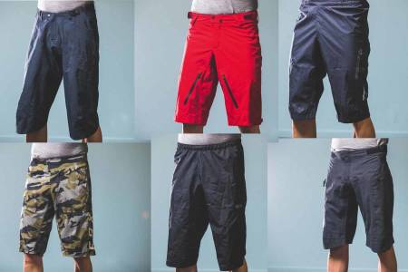 test av shorts sykling