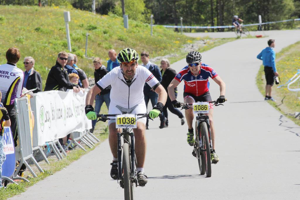 GODT FORNØYD: Team Terrengsykkels Sverre Engelstad var så fornøyd etter et år med treningspanelet at han ville søke om et år til.