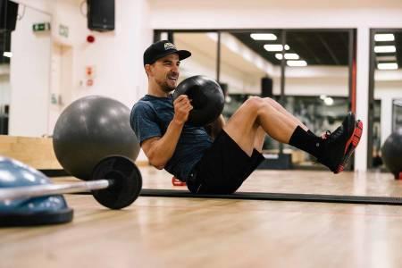 styrketrening Nino Schurter