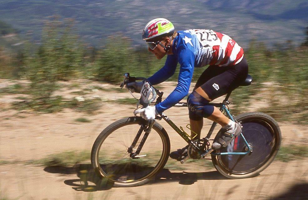 HISTORIEN FØRSTE: Mange vil huske John Tomac fra terrengsykkel-VM i 1990, selv om stjernen ikke tok noen medalje. Alle foto: Pete Astles/images@peakuk.com.