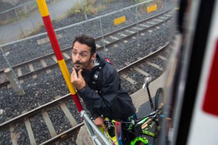 CEDRIC GRACIA: Du vet du har fått det til som syklist når du får et spill oppkalt etter deg. Foto: Christian Nerdrum