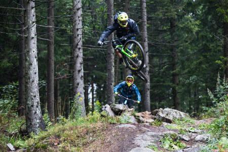 TWEAKER: Mer om hvordan og hvorfor Cedric Gracia hopper som han gjør, ser du i filmen. Foto: Christian Nerdrum