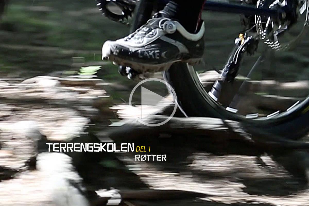 ROTEN TIL ALT VONDT? Rett vektfordeling og trykk i pedalene er to av rådene du får i første episode av Terrengskolen. Foto: Christian Nerdrum