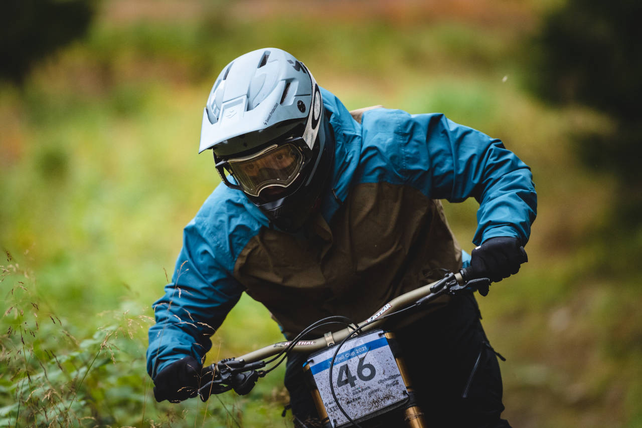 Atle Hagen Laakso vant fjerde runde i Hafjell Downhill Cup 2021