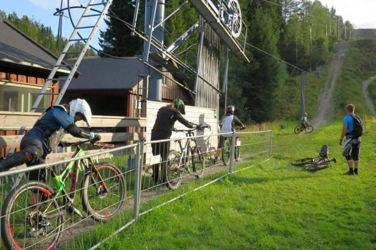 Kjerringåsen sykkelpark sesongstart