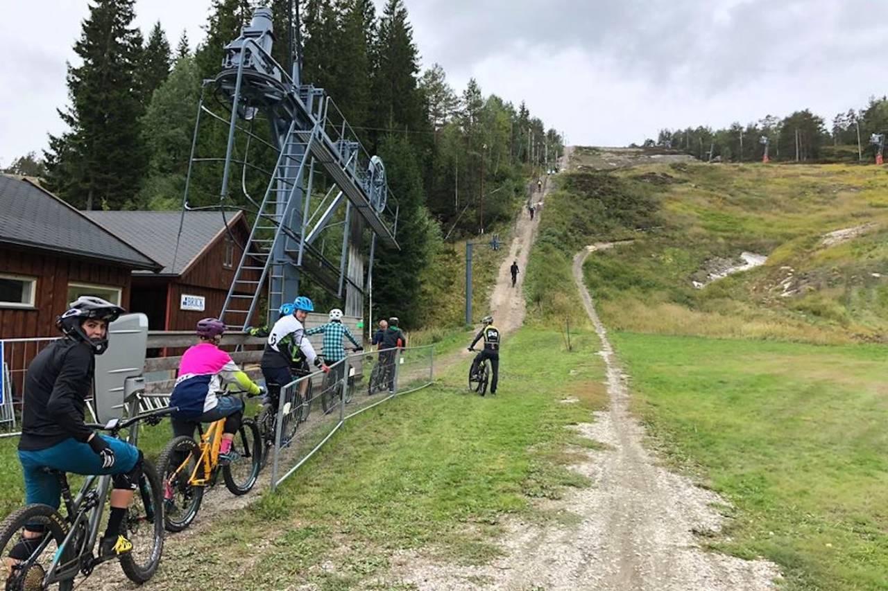 Sesongåpning Kjerringåsen sykkelpark