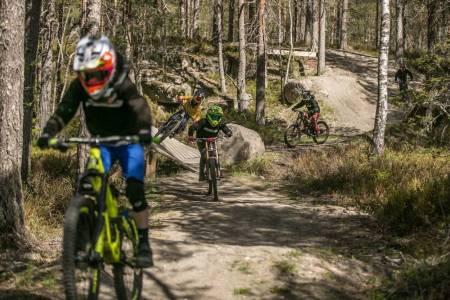 Drammen Bike Park er åpen