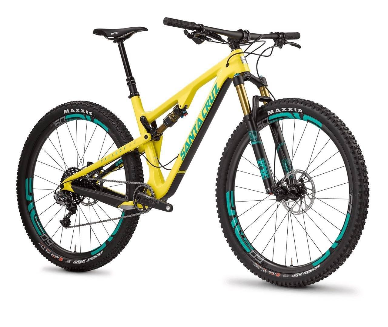 NY GENERASJON: Tallboy 3 kommer i friske farger og med fete utstyrspakker. Du kan velge om du vil sykle med 29 eller 27,5+-hjul.